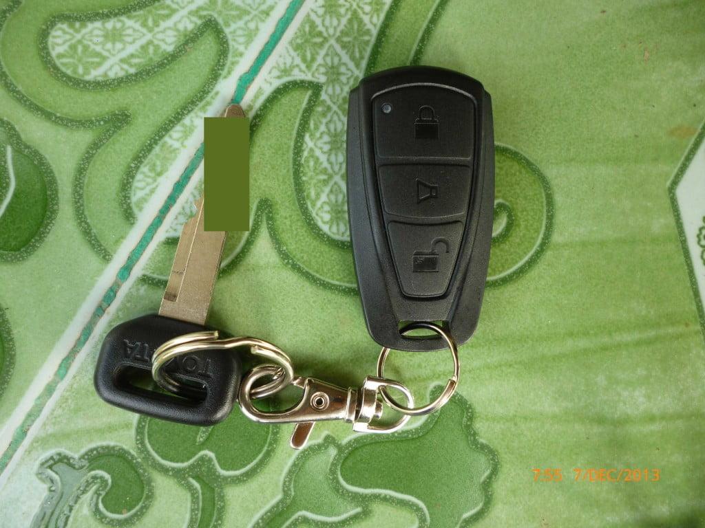 Kunci Mobil Agya TRD S
