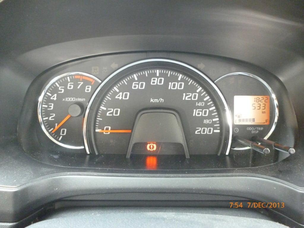 Speedometer Agya