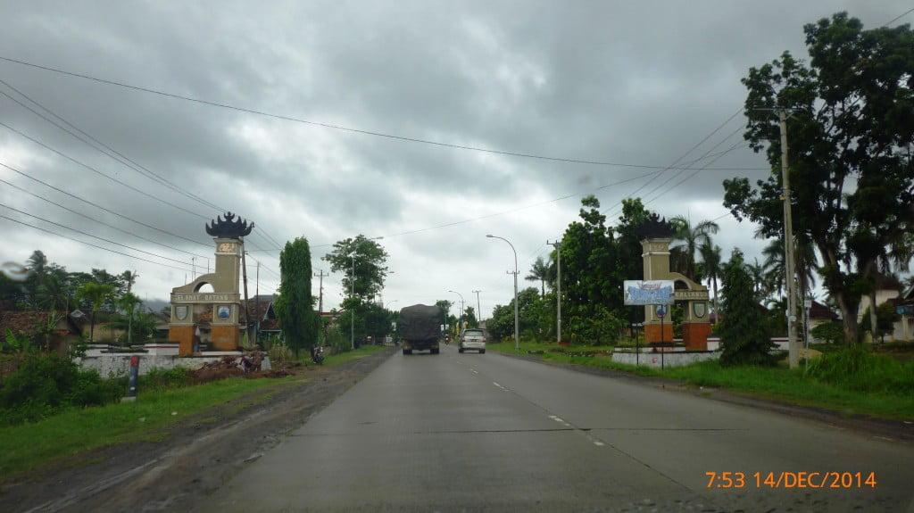 Gapura Kota Kalianda Lampung Selatan