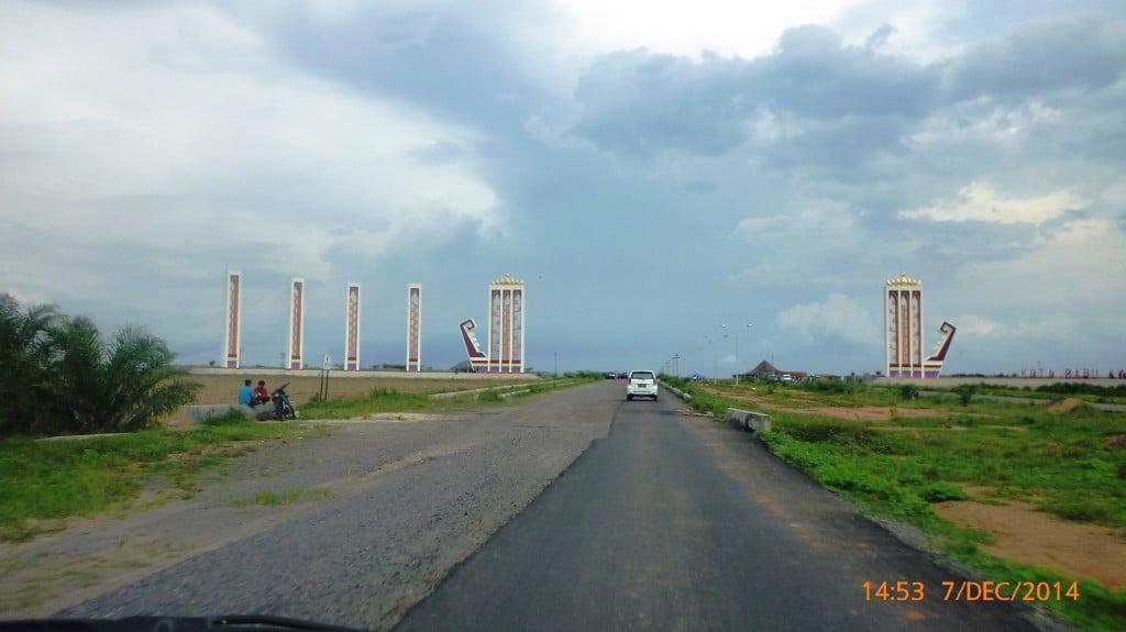 Pintu Gerbang Kota Baru Lampung