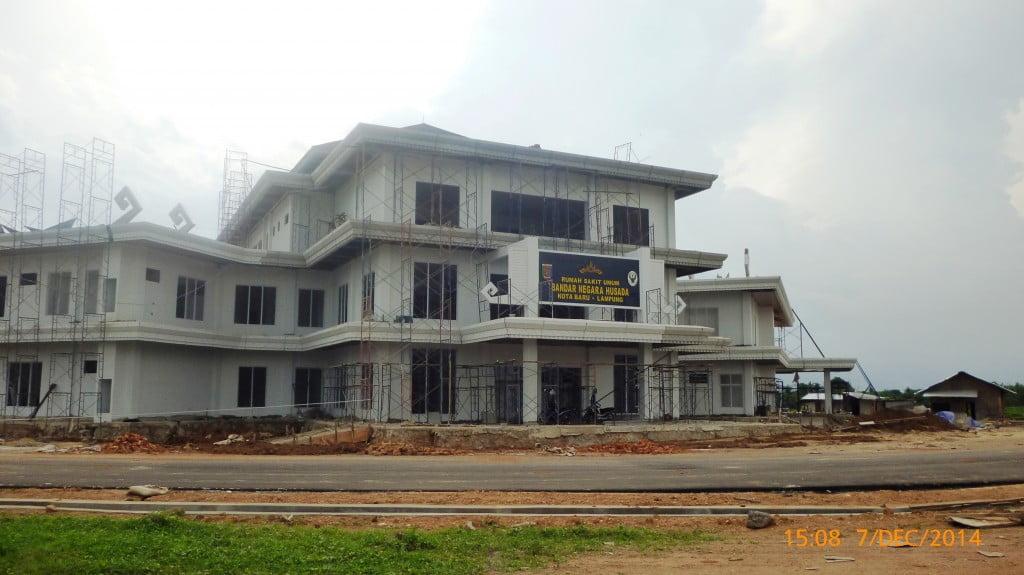 Bangunan Kota Baru Lampung 2014
